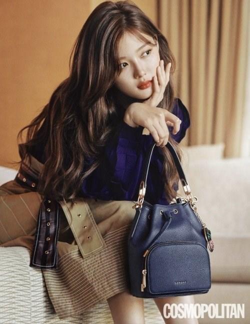 金裕貞新畫報展現甜美、成熟魅力。受訪談健康、生活與新戲 - Kpopn