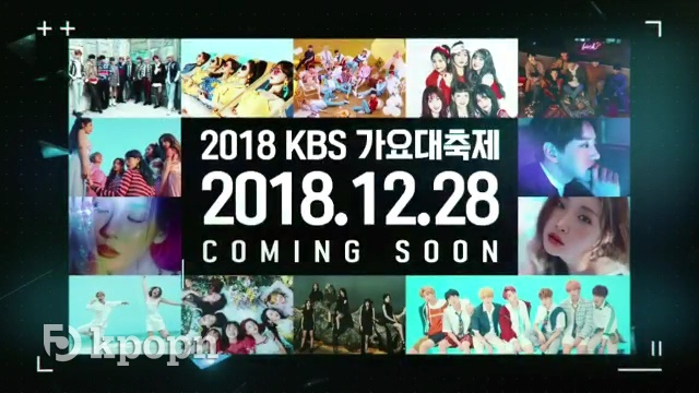 《KBS 歌謠大慶典》首波名單:BTS、Wanna One、SVT... 等 - Kpopn