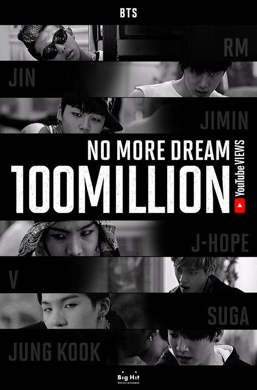 BTS 防彈少年團第21支破億 MV《No More Dream》誕生 - Kpopn