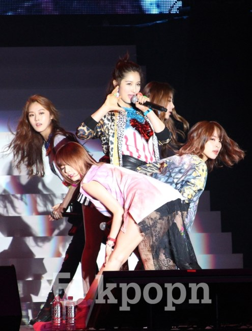4Minute 香港 SC 魅力開唱 - Kpopn