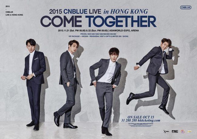 CNBLUE 香港演唱會資訊公開 - Kpopn