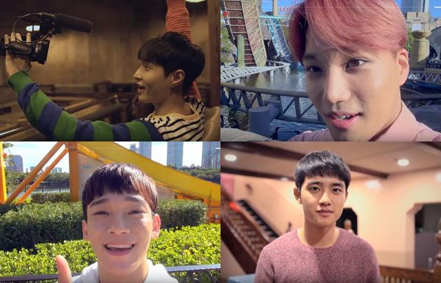 EXO 樂天世界遊樂場系列廣告(二) - Kpopn