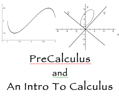 The PreCalculus Text Screencasts