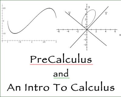 The PreCalculus Text Screencasts
