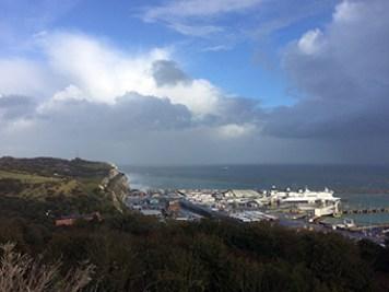 Dover Hafenanlagen
