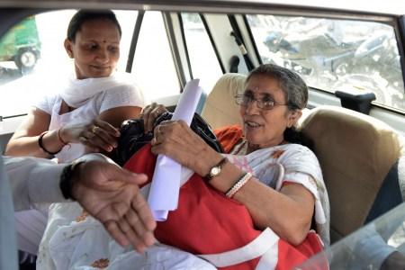 PM Narendra Modi's estranged wife Jashodaben...