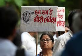 India – Murder of Democracy #GauriLankeshMurder