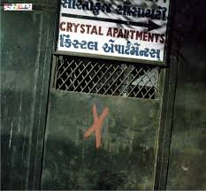 Gujarat – Red crosses spotted on Ahmedabad's...