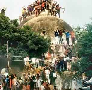 India – Babri Masjid Demolition: 25...