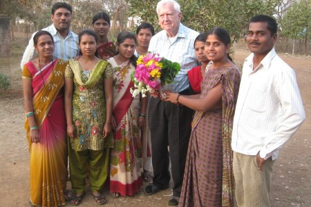 Octogenarian Dr Jonathan Fine who dared to...