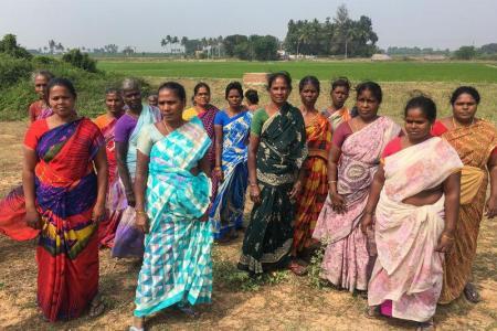 India  – Denied land, Dalit women stake...