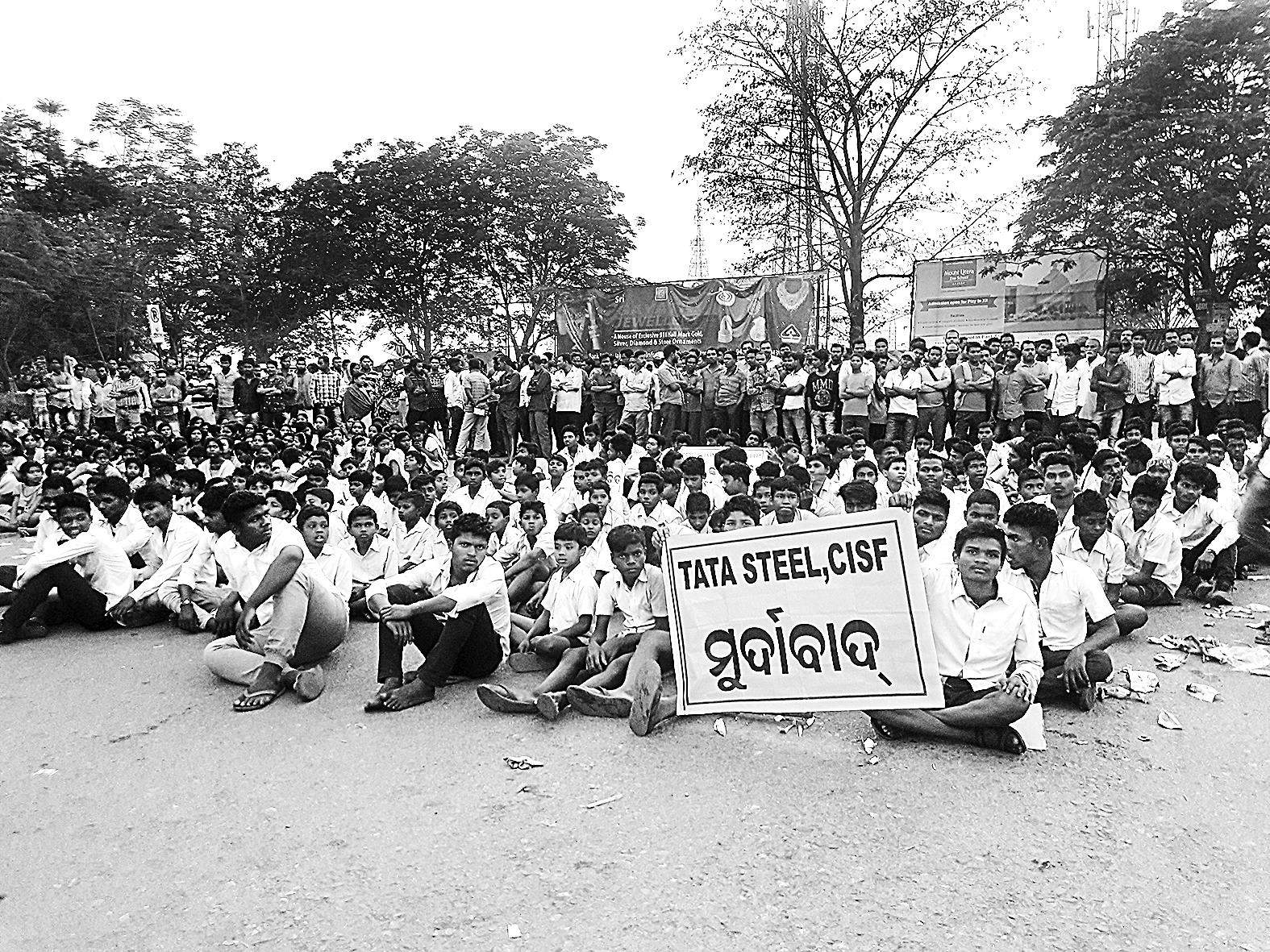 Odisha  – School students cry CISF 'assault'