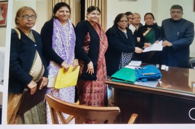 Women Delegates Write to Law Ministry on...