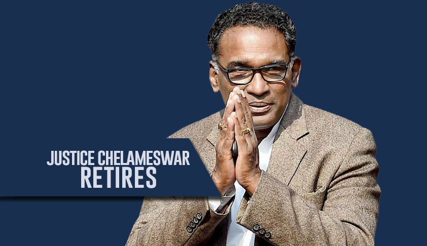 Justice J. Chelameswar- 'I Kept Speaking While Others Didn't'