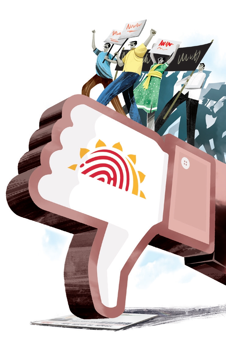 India - 50cr mobiles with  #Aadhaar KYC could be disconnected