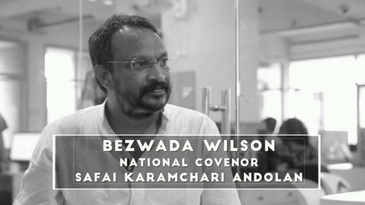 Bezwada Wilson, an Indian hero