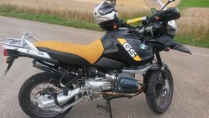 so sah sie beim Kauf aus.. mein Weltreisemotorrad