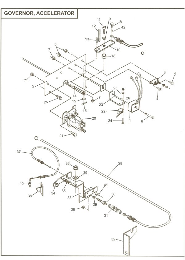 wiring diagram 3648 volts columbia parcar electric wiring diagram