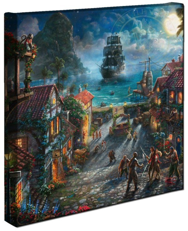 Thomas Kinkade Disney Pirates of the Caribbean
