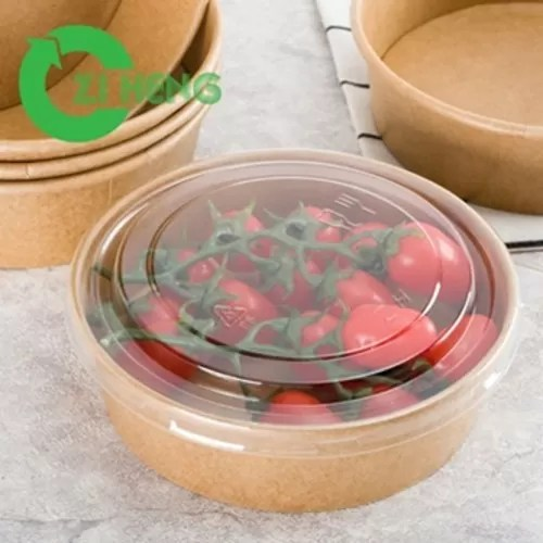 brown sturdy 32 oz paper bowls