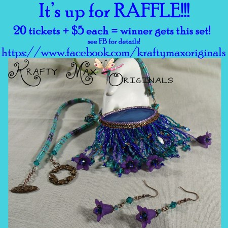 Raffle - Purple and Blue