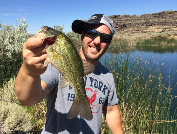 Dierkes lake archives kraken bass for Bass fishing idaho