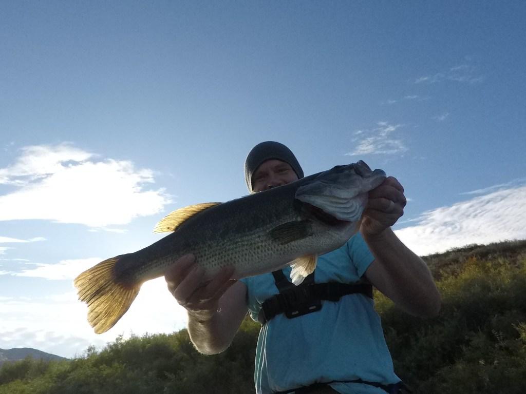 Idaho Bass Fishing Weston Creek Reservoir