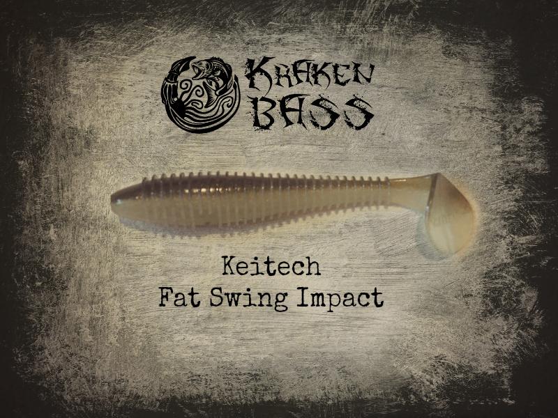 Keitech Swing Impact Fat Best Softplastic Swimbaits