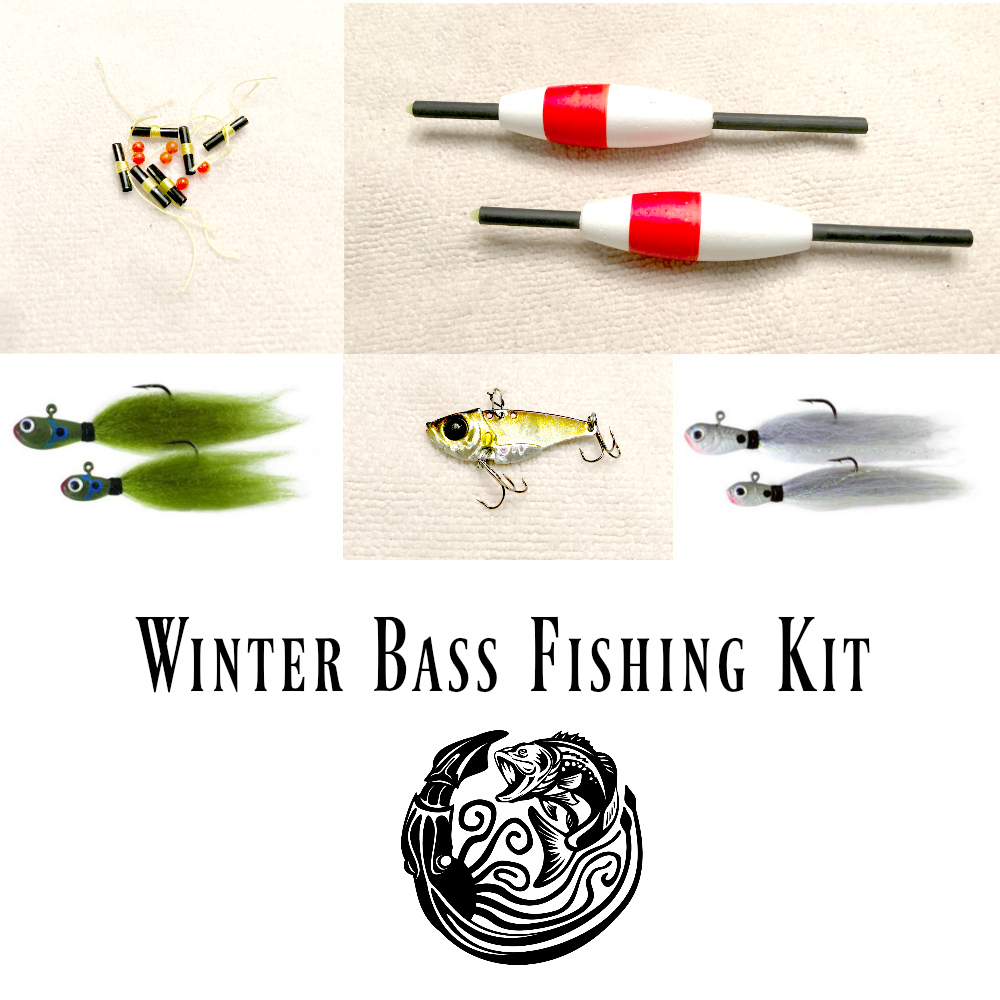 best winter bass fishing techniques kit