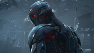 Ultron is invented by Tony Stark and is essentially a machine learning program that wants to destroy the world. Photo credit: This is a promotional photo from Avengers: Age of Ultron.