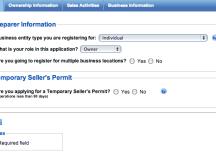 Seller's Permit information | Kraken Con