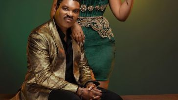 Omotola Jalade-Ekeinde and her Captain are 25 Years Strong!