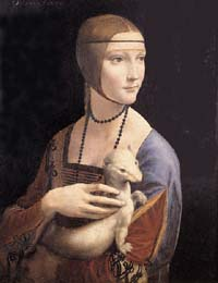 Lady with an Ermine by Leonardo da Vinci