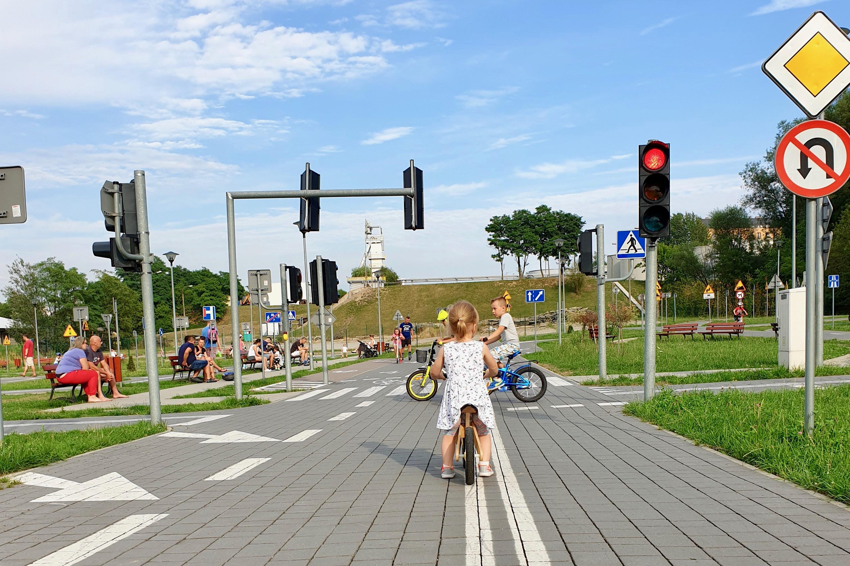 miasteczko ruchu drogowego