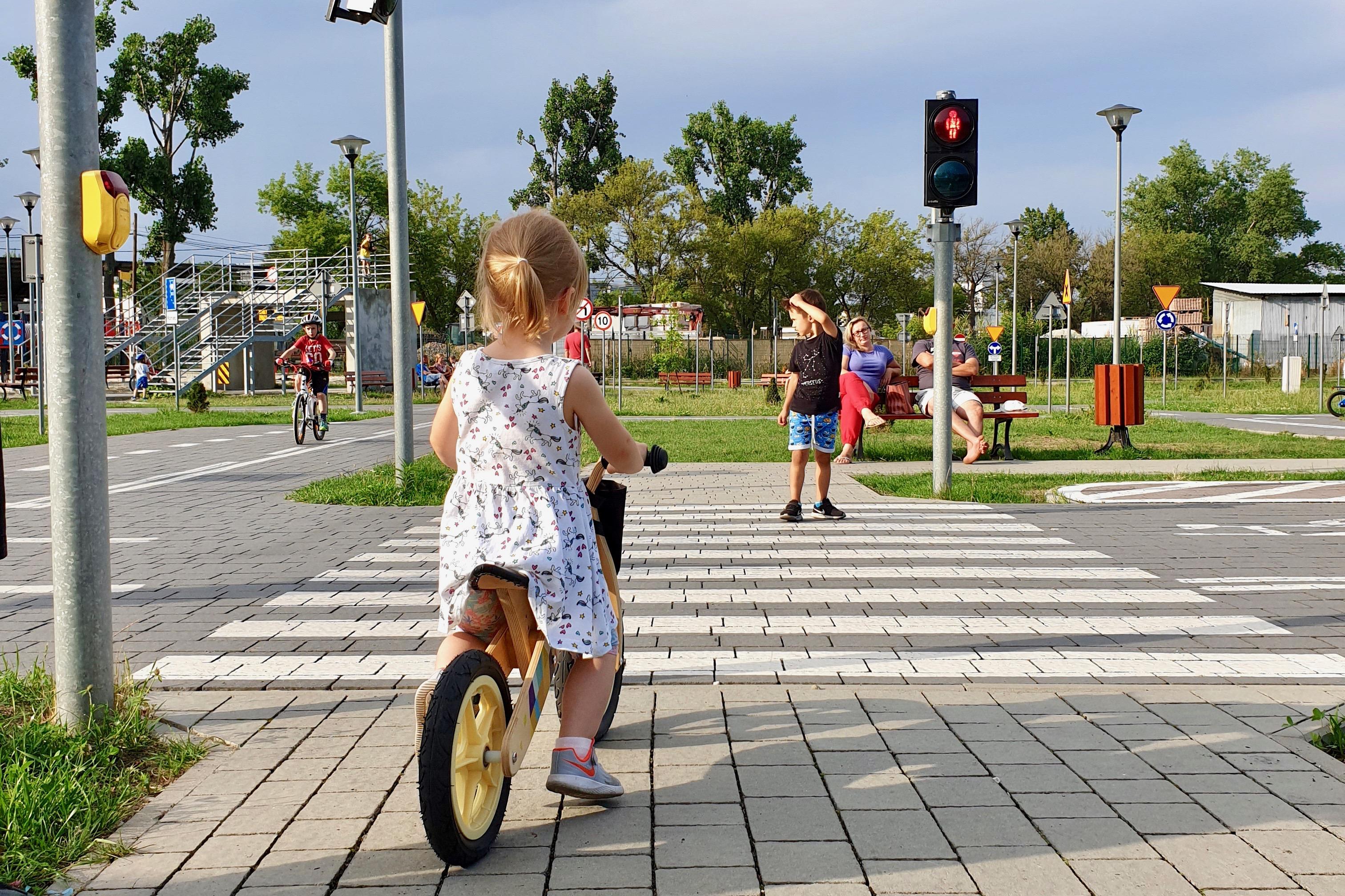 miasteczko ruchu drogowego Wieliczka