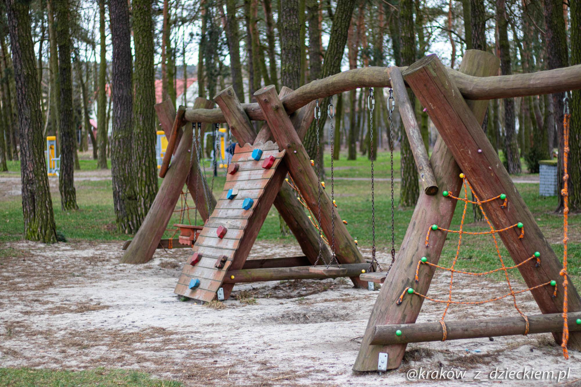 plac zabaw Kryspinów