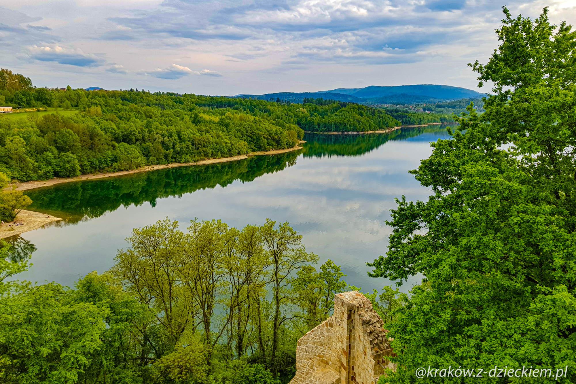 jezioro dobczyckie