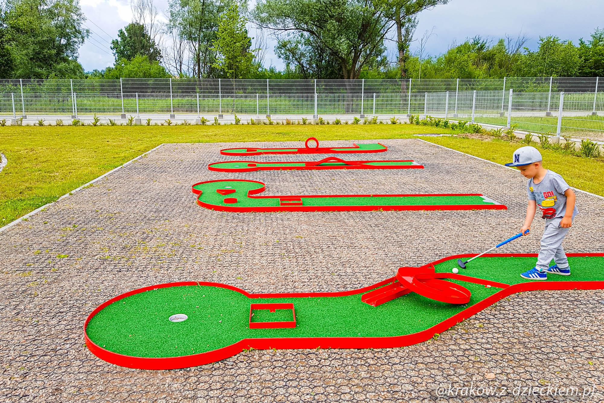 pole do mini golfa Dobczyce