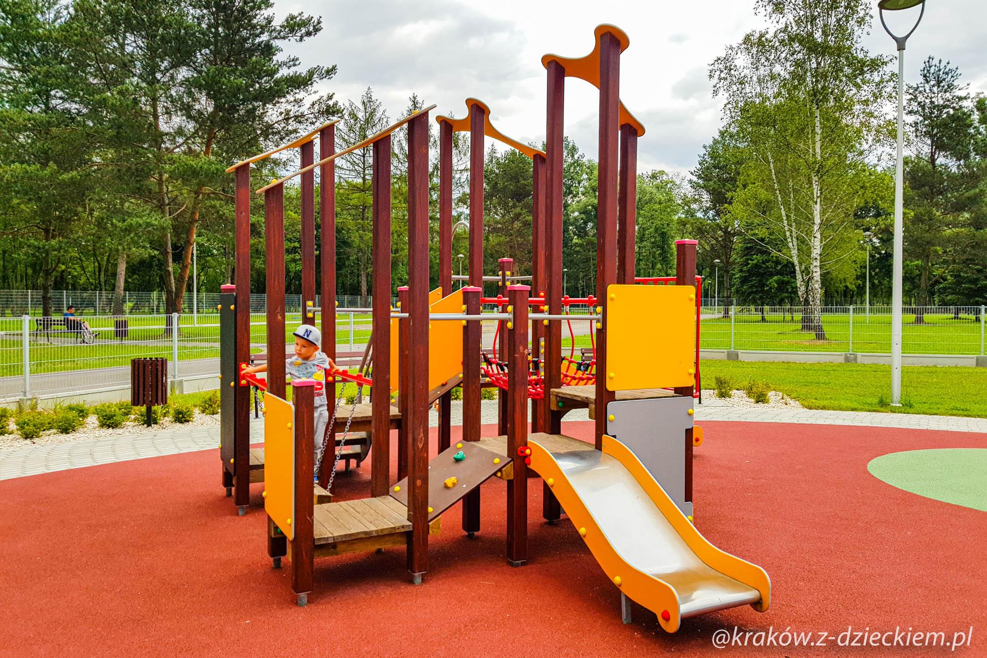 plac zabaw dla najmłodszych Dobczyce