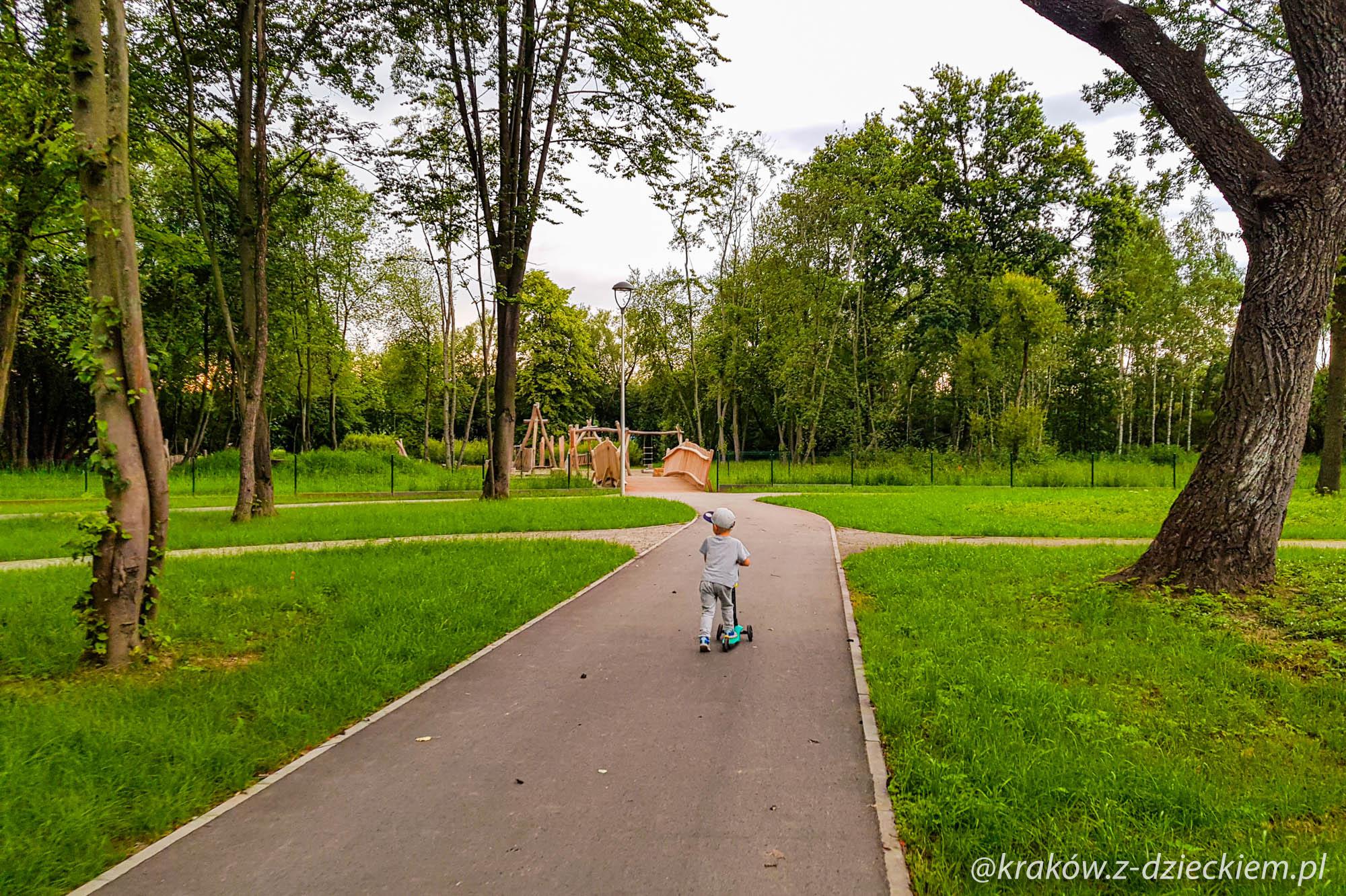 park miejski dobczyce