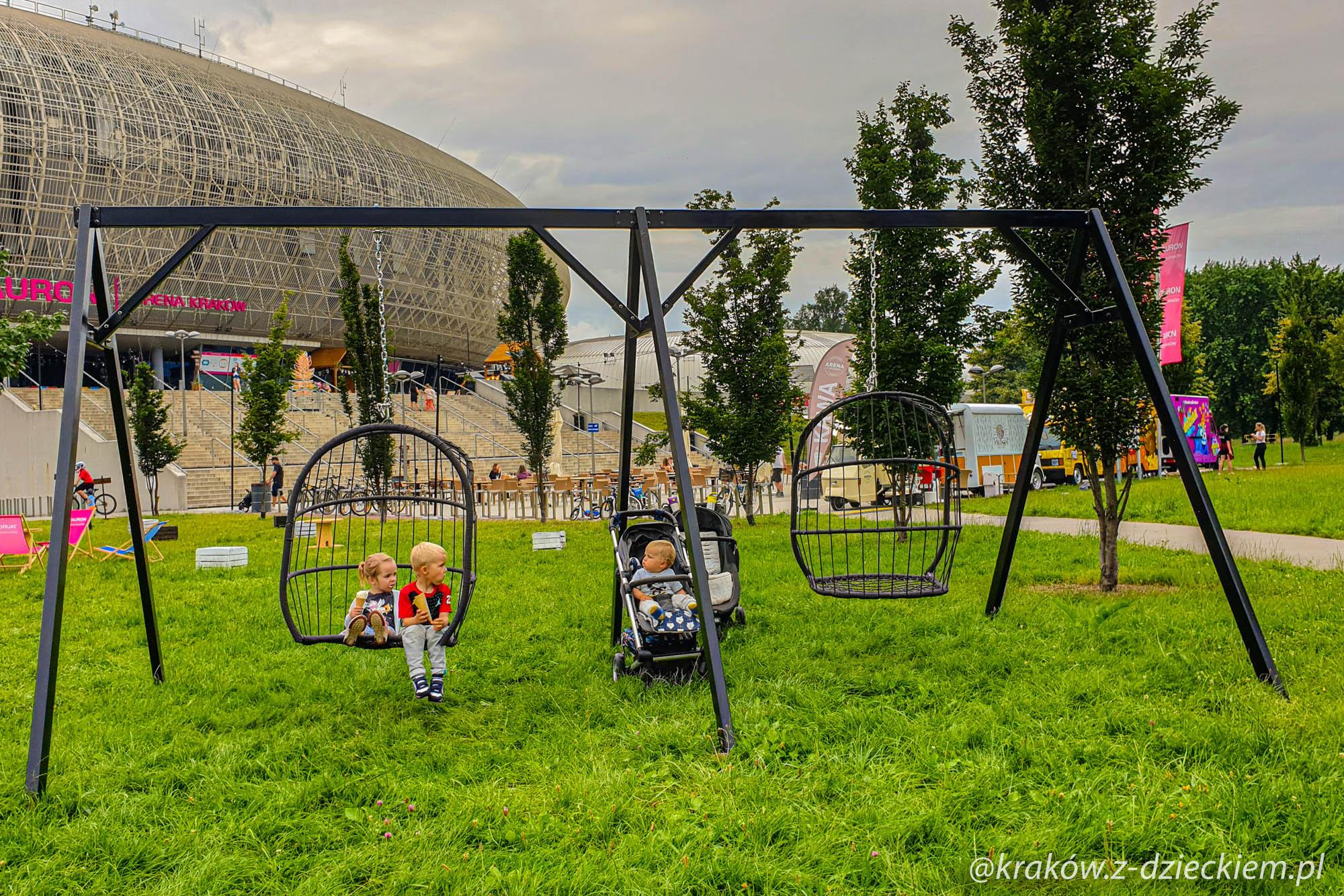 Garden Arena huśtawki
