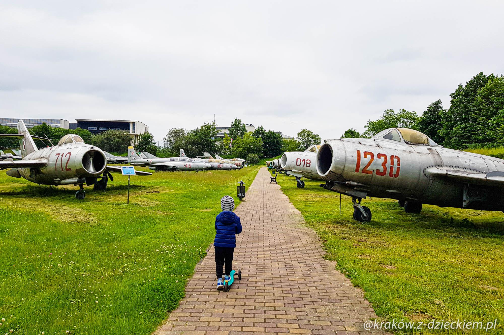 samoloty, eksponaty