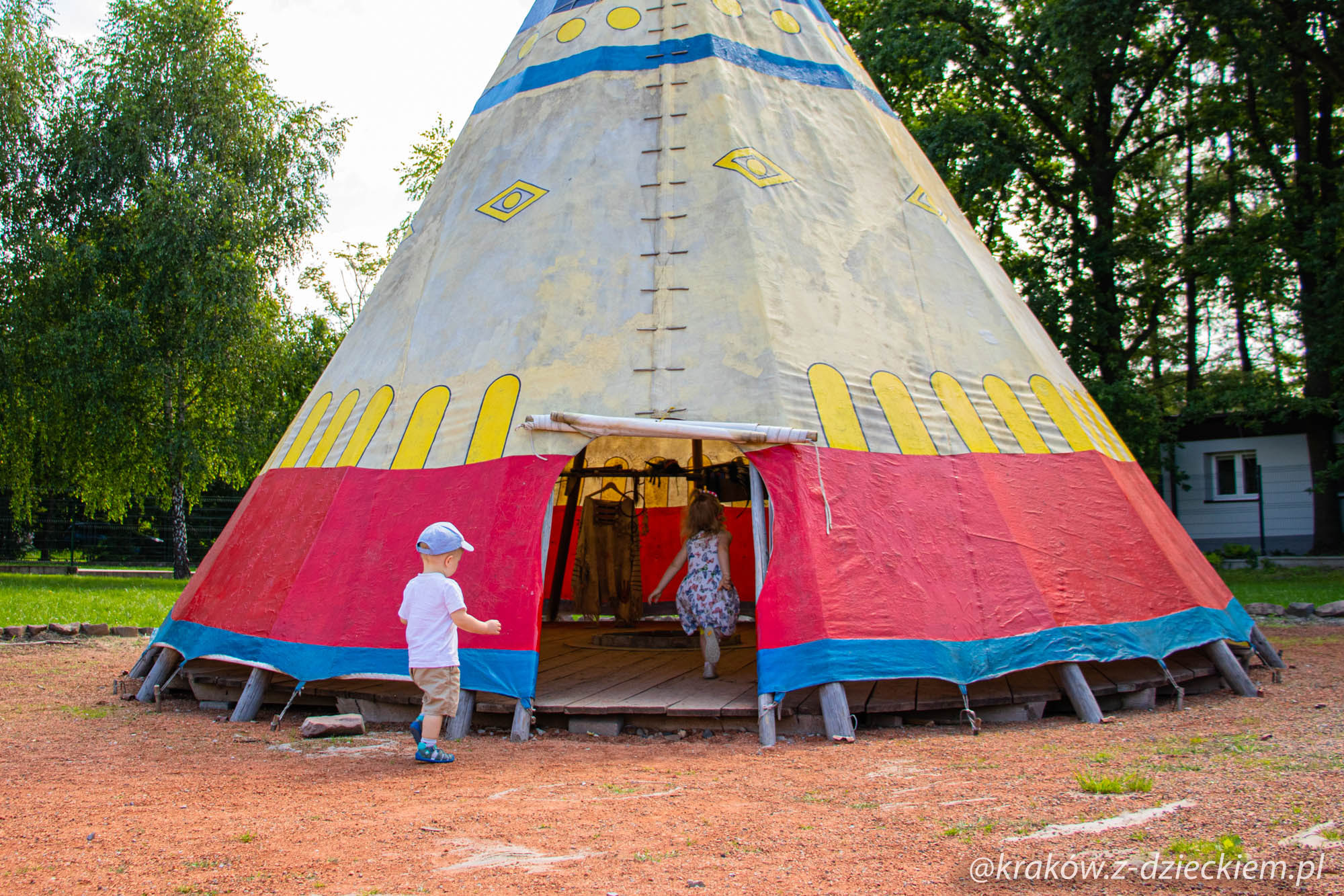 indiańskie tipi, wioski świata