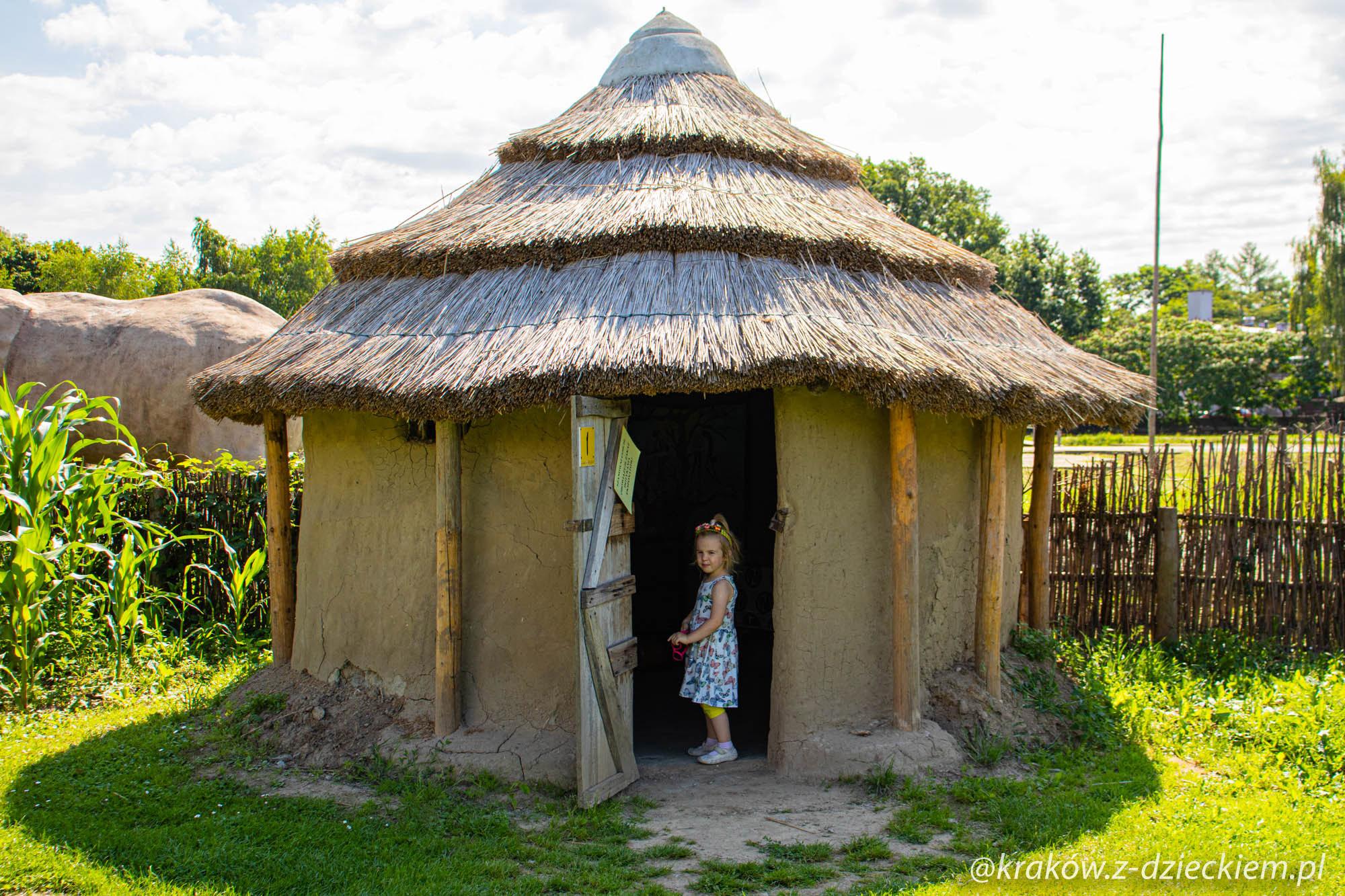 ghański domek, Wioski Świata