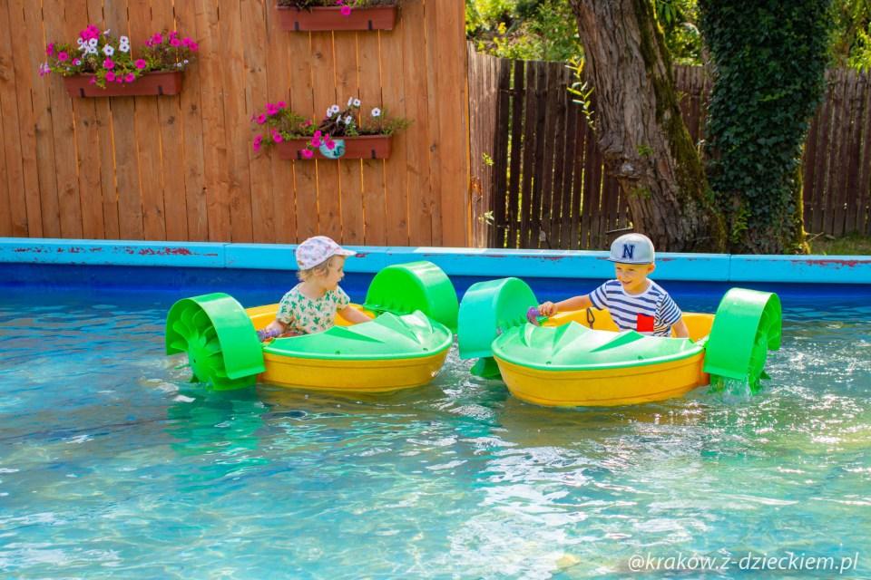zabawy w Rabkolandzie, łódki