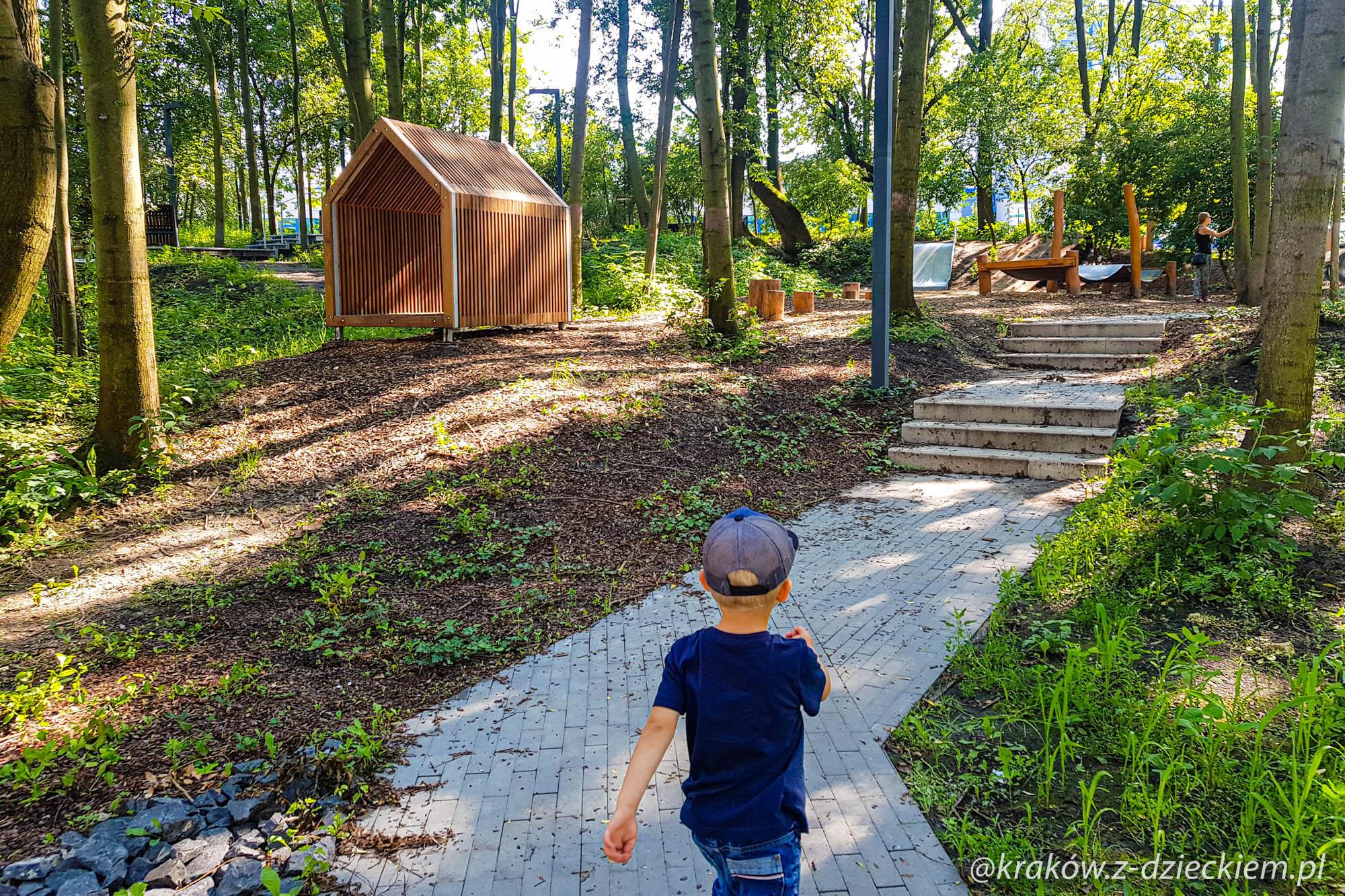 Park krakowian, Plac zabaw na Podgórzu