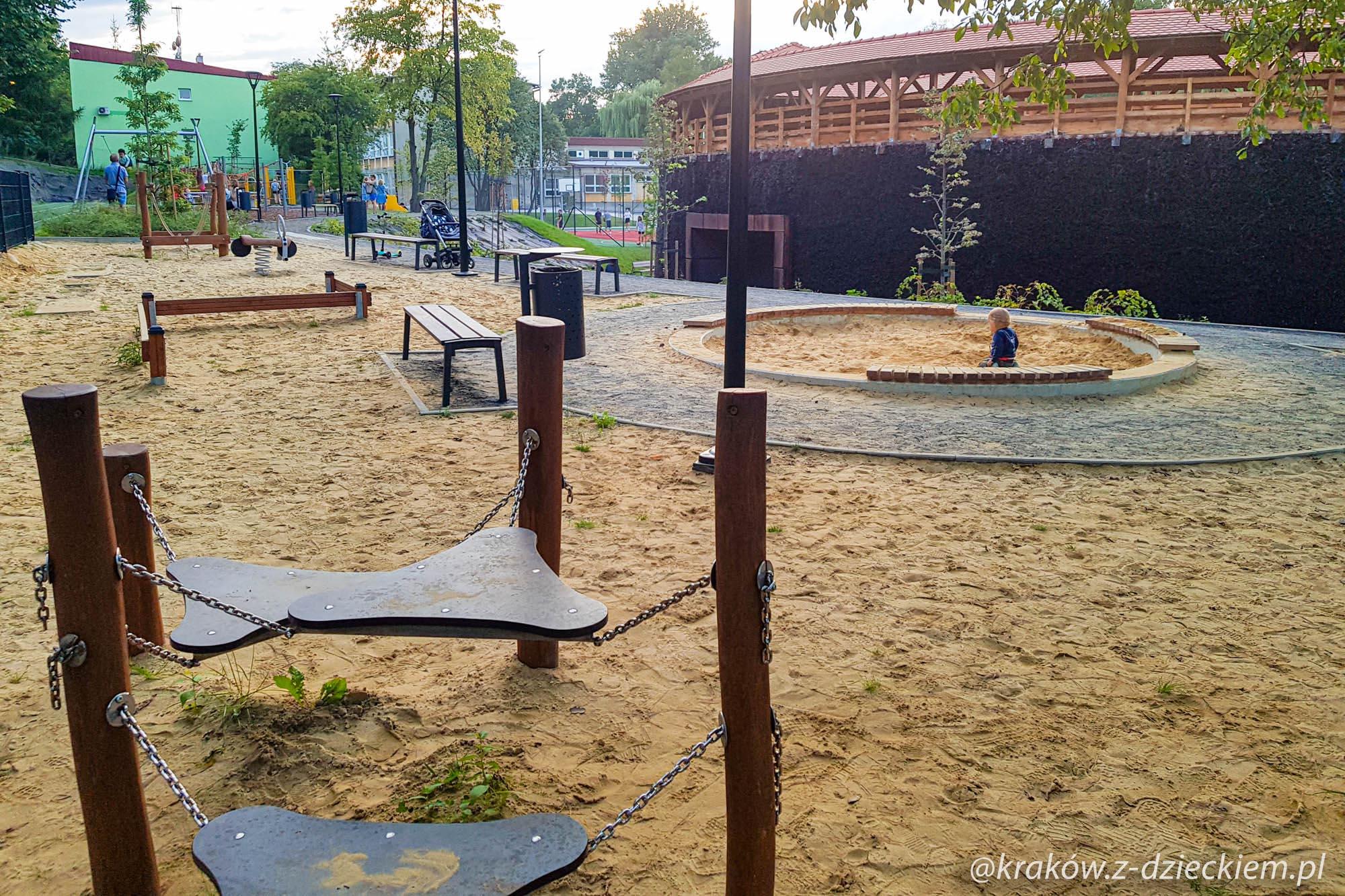 plac zabaw w Bochni