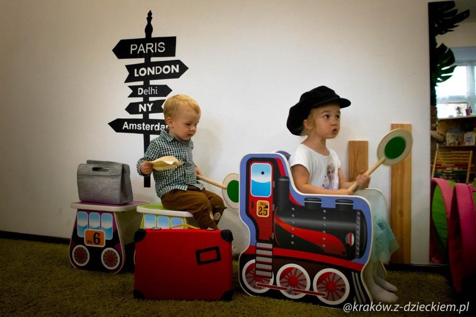 zabawa w pociąg
