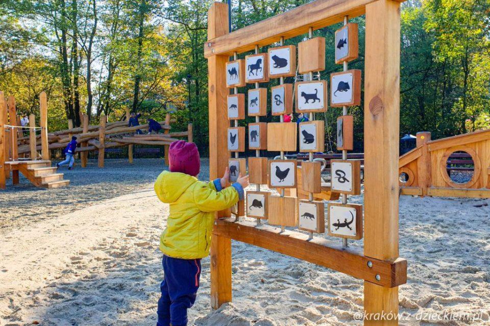 memory, Park Jerzmanowskich - nowy plac zabaw