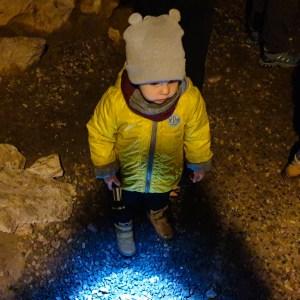 Jaskinia Wierzchowska z dziećmi